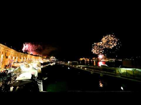 Fireworks Display at Valletta Cruise Port