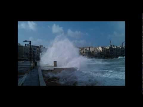 Malta Sea Storm 2012 (Dwejra & Marsalforn Gozo)
