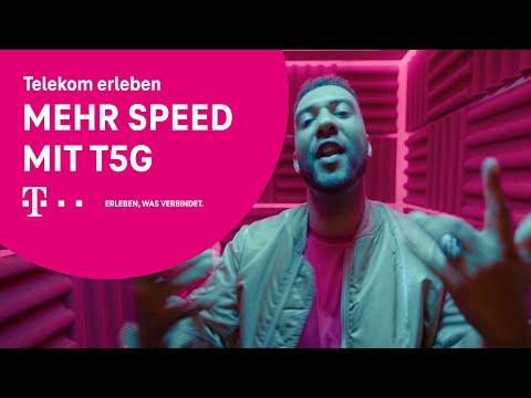 Erlebe mehr Speed im größten & besten 5G-Netz*