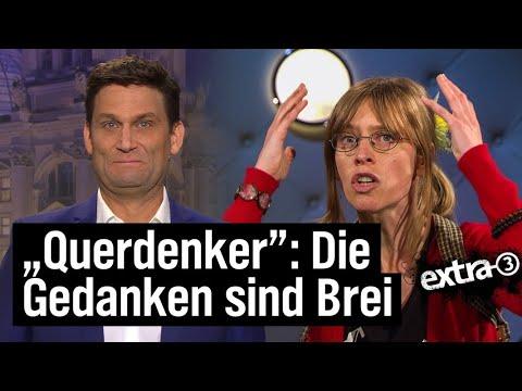 Corona-Leugner, Querdenker, Verschwörungstheorien | extra 3 | NDR