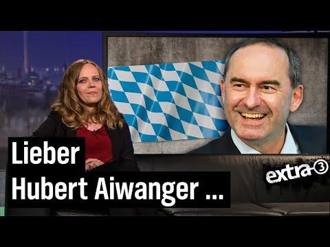 Sarah Bosetti antwortet Impfskeptiker Hubert Aiwanger | extra 3 | NDR