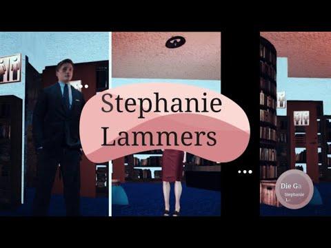 """""""Stephanie Lammers las ihre Geschichte """"Die Gabe"""" aus der Anthologie """"Das Alien tanzt Walzer"""""""